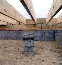 Foundation settlement repairs in atlanta charleston ga for Pier and beam foundation spacing